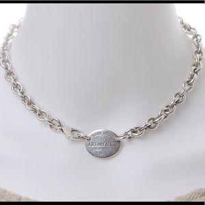Sterling Silver Tiffany's* necklace